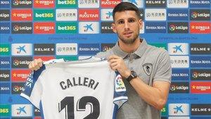Calleri llegó en verano al Espanyol