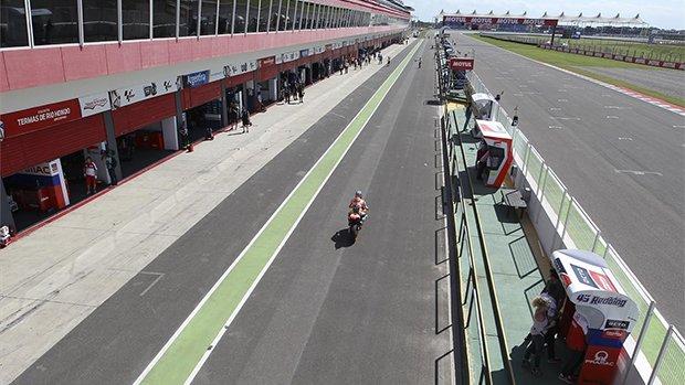 El circuito de Termas de Río Hondo del GP de Argentina de MotoGP (ES)