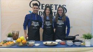 Componentes del equipo FER, Roberto Sánchez, Laura jorge y Vania Rico