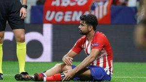 Diego Costa arrastra molestias en el pie derecho