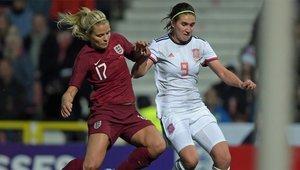 España cayó en su amistoso ante Inglaterra