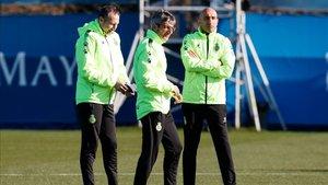 El Espanyol hablará de futuro con Abelardo cuando concluya el curso