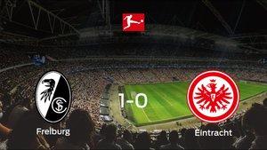 El SC Freiburg consigue los tres puntos frente al Eintracht Frankfurt (1-0)