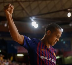 Fútbol Sala: FC Barcelona Lassa, 7 - Segovia, 1