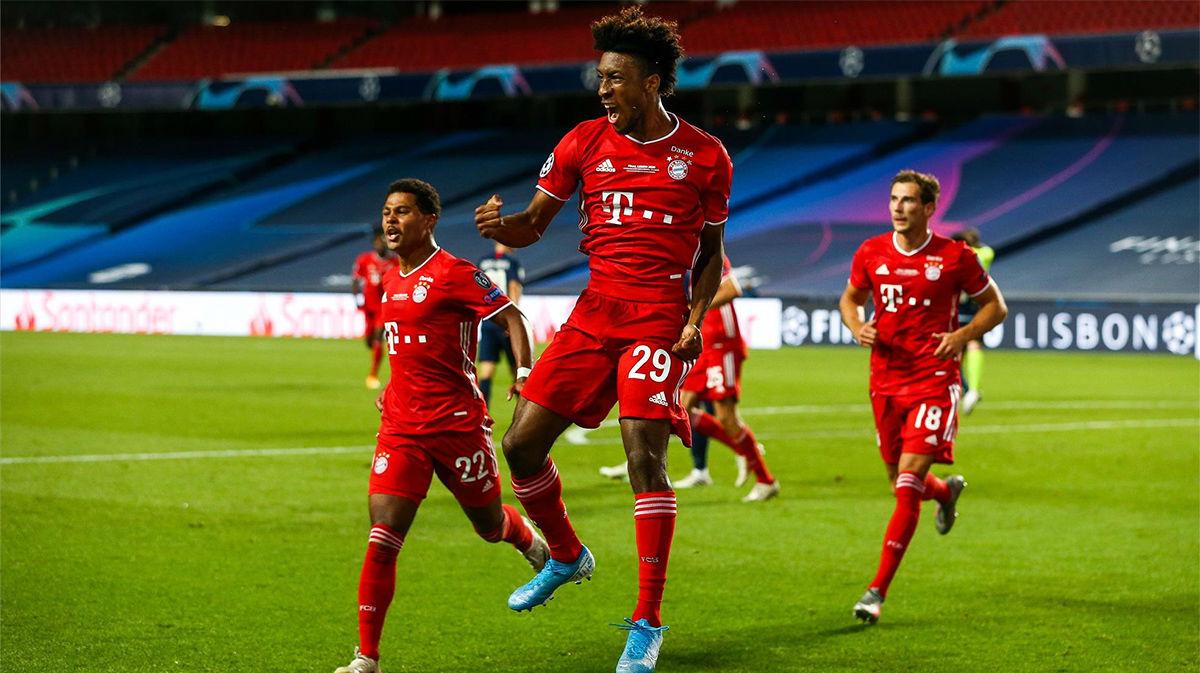 El gol de Coman, ex del PSG, que ha hecho campeón al Bayern