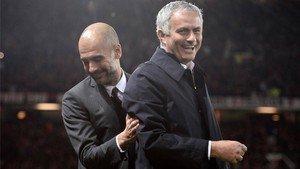 Guardiola, muy cerca de ser campeón ante su eterno rival Mourinho
