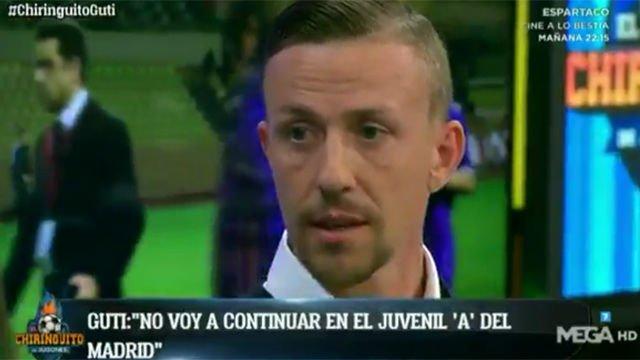 Guti anuncia que deja el Juvenil A del Madrid