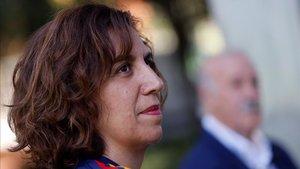 Irene Lozano se reunió ayer con los presidentes y directivos de los clubes de la Primera Iberdrola