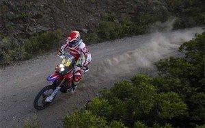 Joan Barreda sigue líder del Dakar 2015 en motos