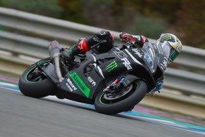 Jonathan Rea, en la pista de Jerez