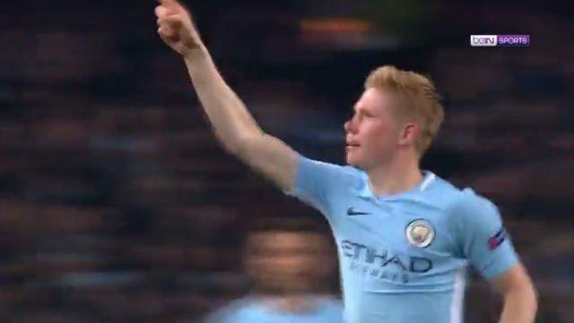 LACHAMPIONS | Manchester City - Shaktar Donetsk (2-1): Así fue el gol de Bruyne
