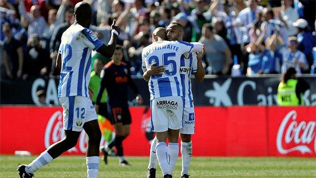 El Leganés rescata un importante punto ante el Valencia