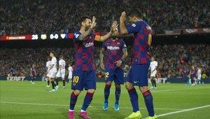 Lionel Messi y Luis Suárez podrían volver a jugar juntos esta noche