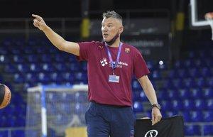 Los aficionados podrán seguir el debut de Jasikevicius por Barça TV