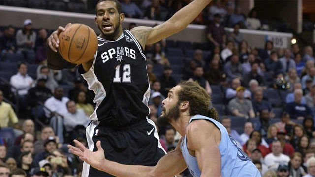 Los Griezzlies pagaron caro un error ante los Spurs (107-108)