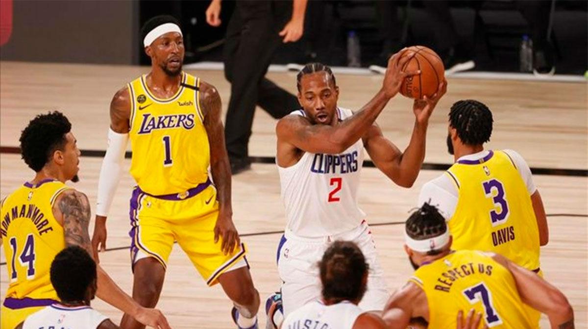 Los Lakers se llevan el duelo de Los Ángeles en la nueva normalidad de la NBA
