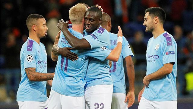 El Manchester City se deshace fácil del Shakhtar