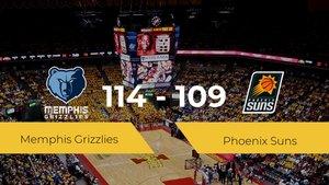 Memphis Grizzlies derrota a Phoenix Suns (114-109)
