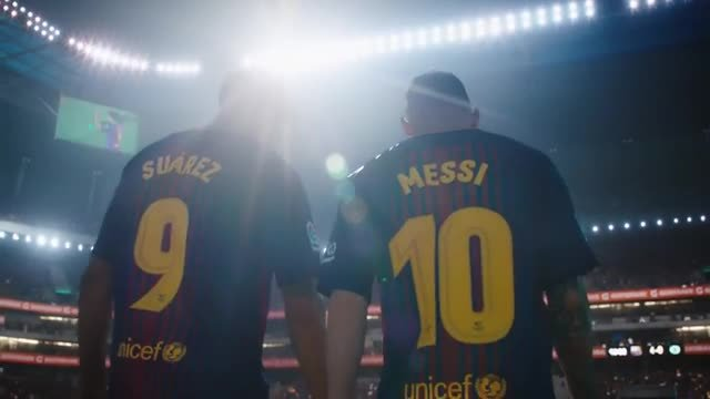 Messi y Suárez, protagonistas de un anuncio publicitario