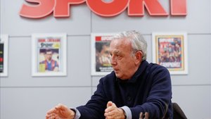 Murtra, durante la entrevista con SPORT
