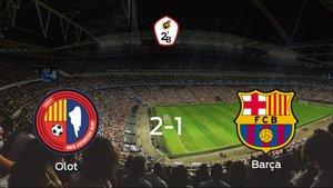 El Olot vence 2-1 al Barcelona B en el Camp Municipal dOlot