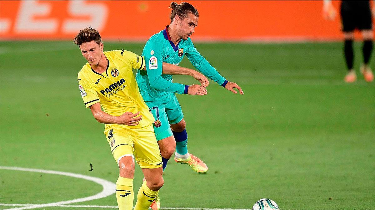 Pau Torres ayudó al Barça a adelantarse en el marcador