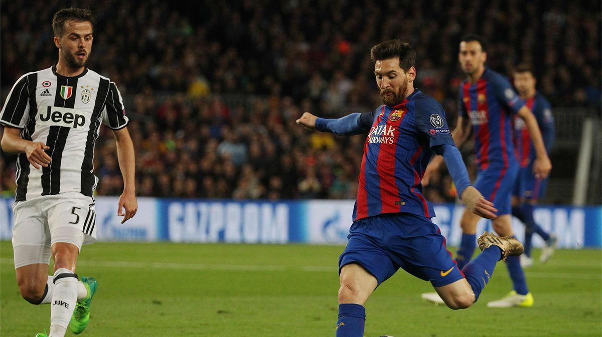Pjanic elogia a Leo Messi y prefiere no compararlo con Cristiano