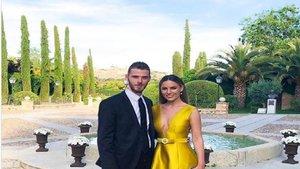 Polémica en Instagram tras el calzado que llevó De Gea a una boda