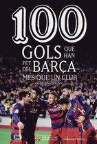 Portada del libro 100 gols que han fet del Barça més que un club