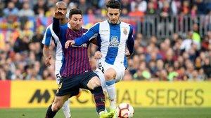 La próxima vez, Hermoso se enfrentará a Messi con otra camiseta
