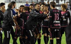 Raúl Agné deja de ser entrenador del CD Tenerife