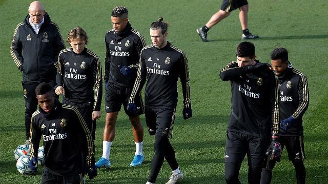 El Real Madrid entrenó con la mente puesta en el Valencia