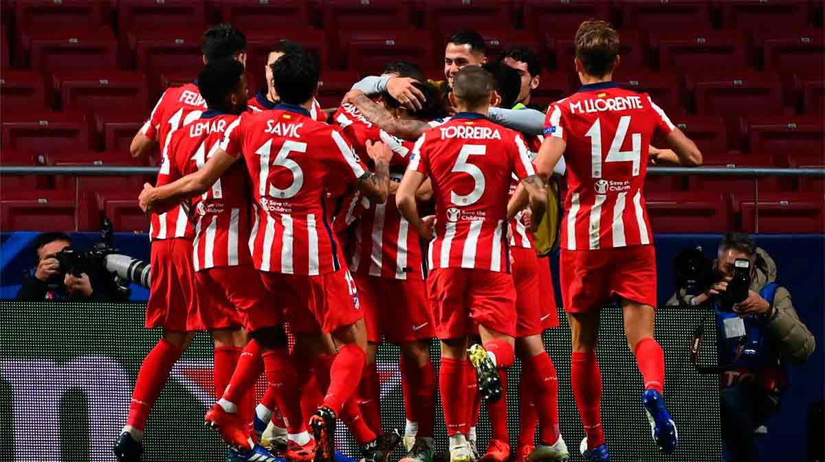 El resumen de la remontada del Atlético al Salzburgo