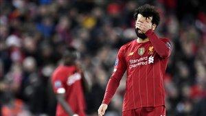Salah, una de las estrellas de la Premier