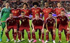 La selección belga, en una imagen de archivo