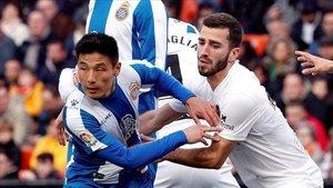 El Valencia obtuvo un empate en su último encuentro por liga