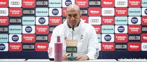 Zidane confía en sus jugadores de cara al clásico de este sábado
