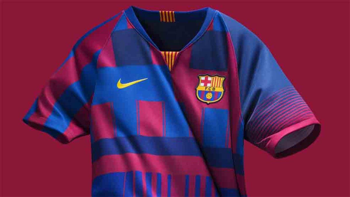 edacd77e58422 La camiseta de coleccionista del Barcelona