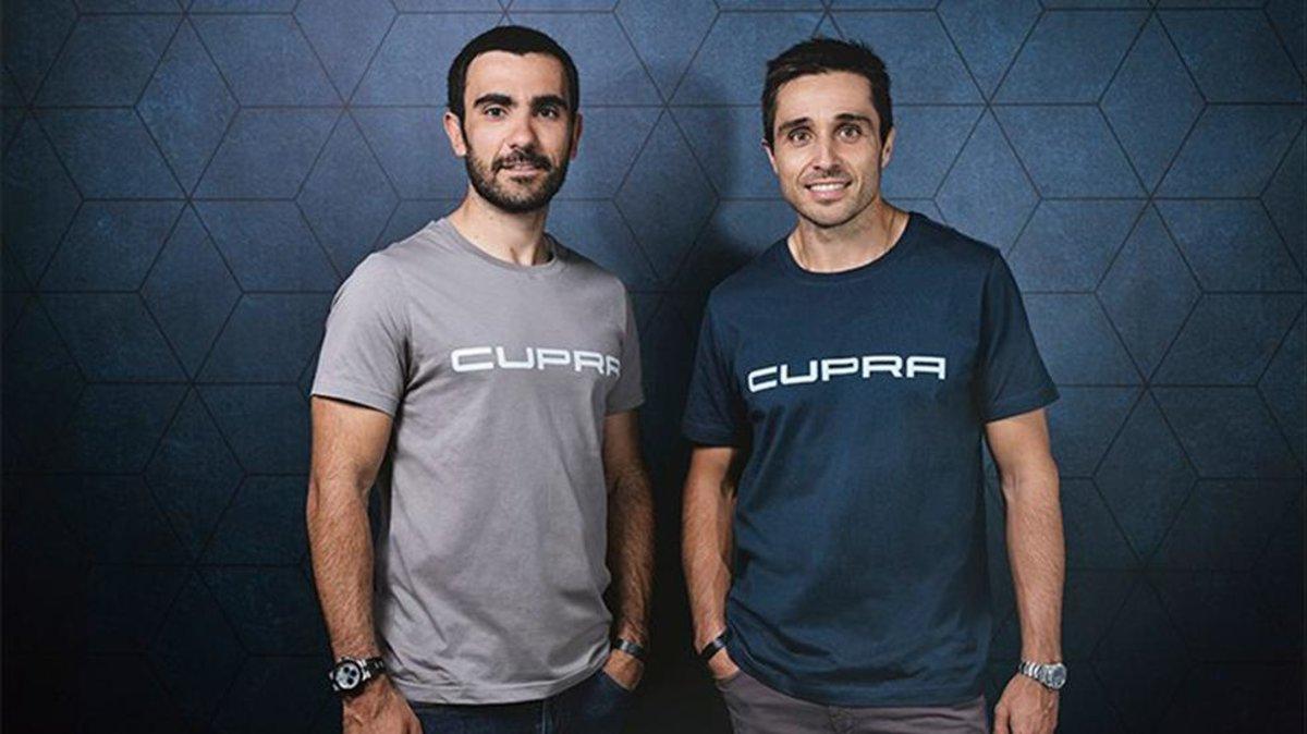 Bela y Lima, nuevos embajadores de Cupra