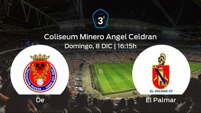 Previa del partido: la Deportiva Minera recibe en su feudo a El Palmar
