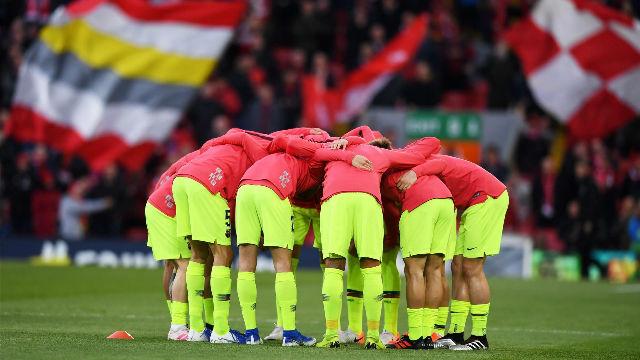 El 1x1 del Barça ante el Liverpool