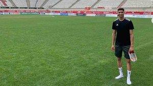 Achraf Hakimi está en Murcia
