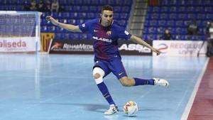Aicardo, jugador del FC Barcelona Lassa