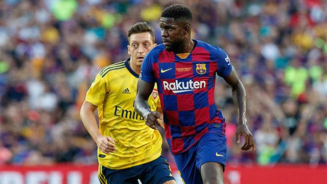 La alineación del FC Barcelona ante el Eibar