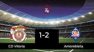 El Amorebieta vence por 1-2 al Vitoria