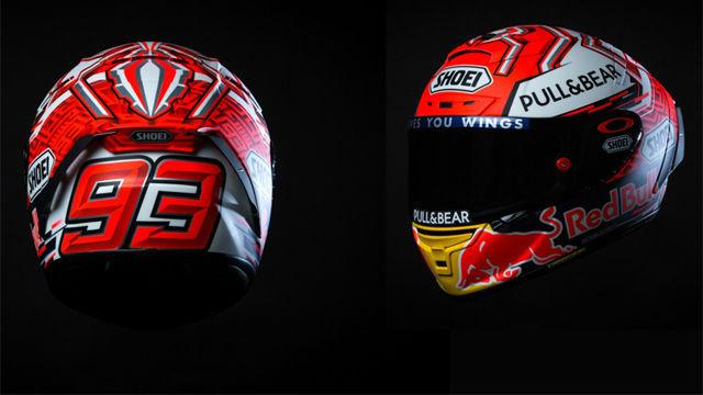 Así es el nuevo casco de Marc Márquez
