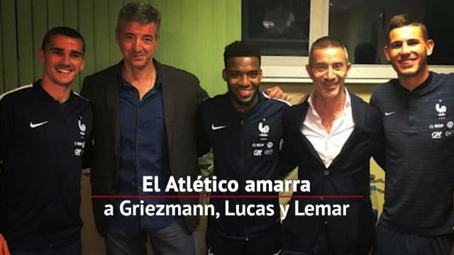 El Atlético ha blindado a sus jugadores franceses