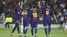 El Barça goleó a la Juventus