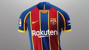 La camiseta de la temporada 2020/2021