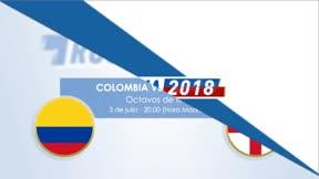 Cara a cara: Colombia - Inglaterra